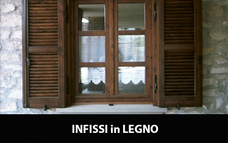 Infissi in legno